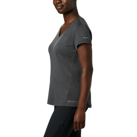Columbia Bryce Koszulka z krótkim rękawem Kobiety, black heather
